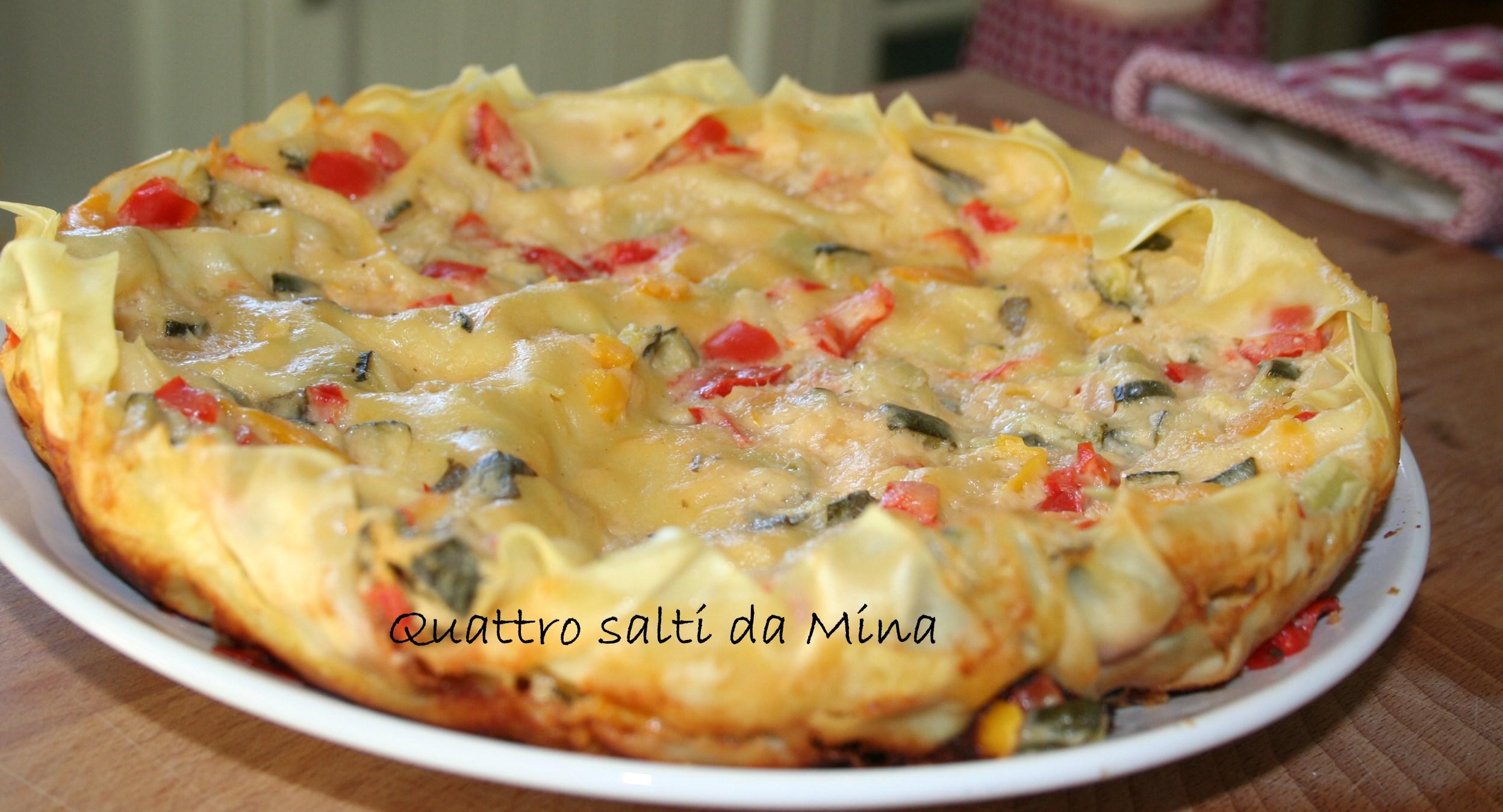 lasagne vegetariane in padella | quattro salti da mina - Come Cucinare Le Lasagne