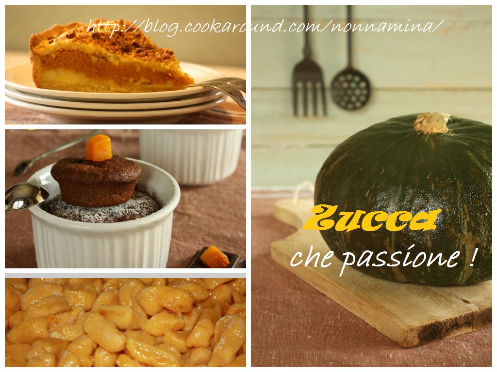 ZUCCA CHE PASSIONE (raccolta di ricette)