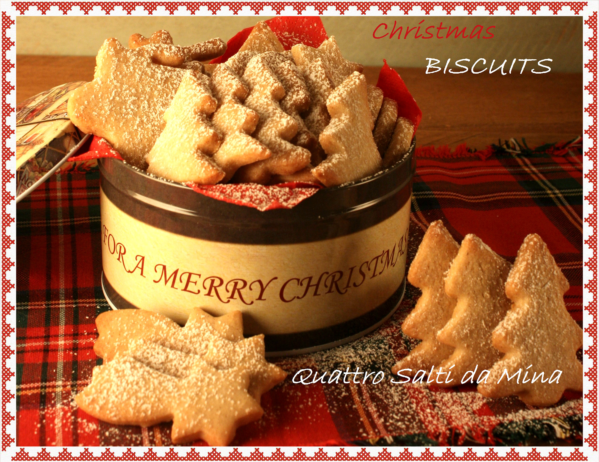 Biscotti Classici Di Natale.Biscotti Di Natale Idea Regalo