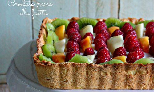 Crostata fresca alla frutta