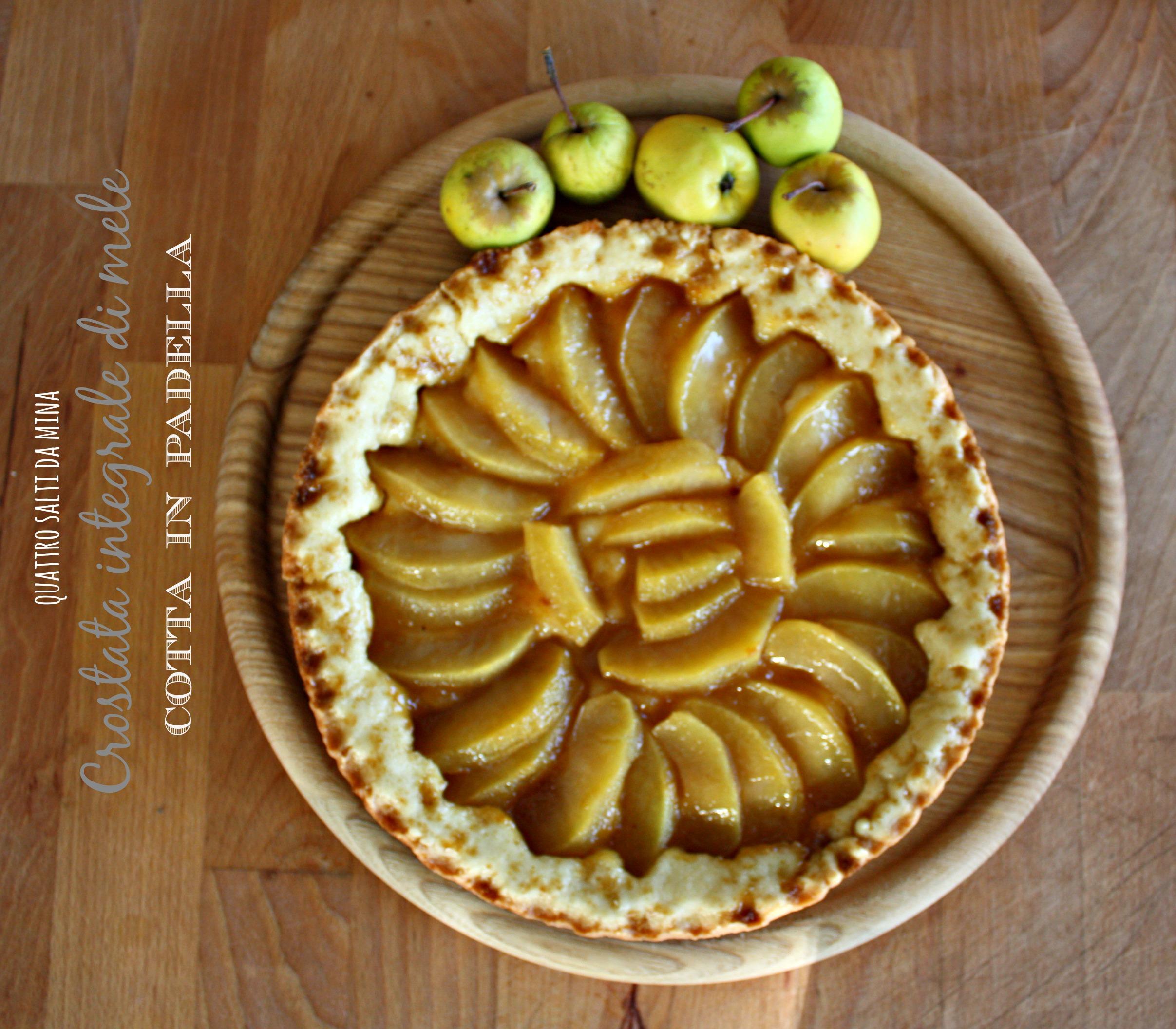 Ricerca ricette con mele cotte in padella for Crostata di mele
