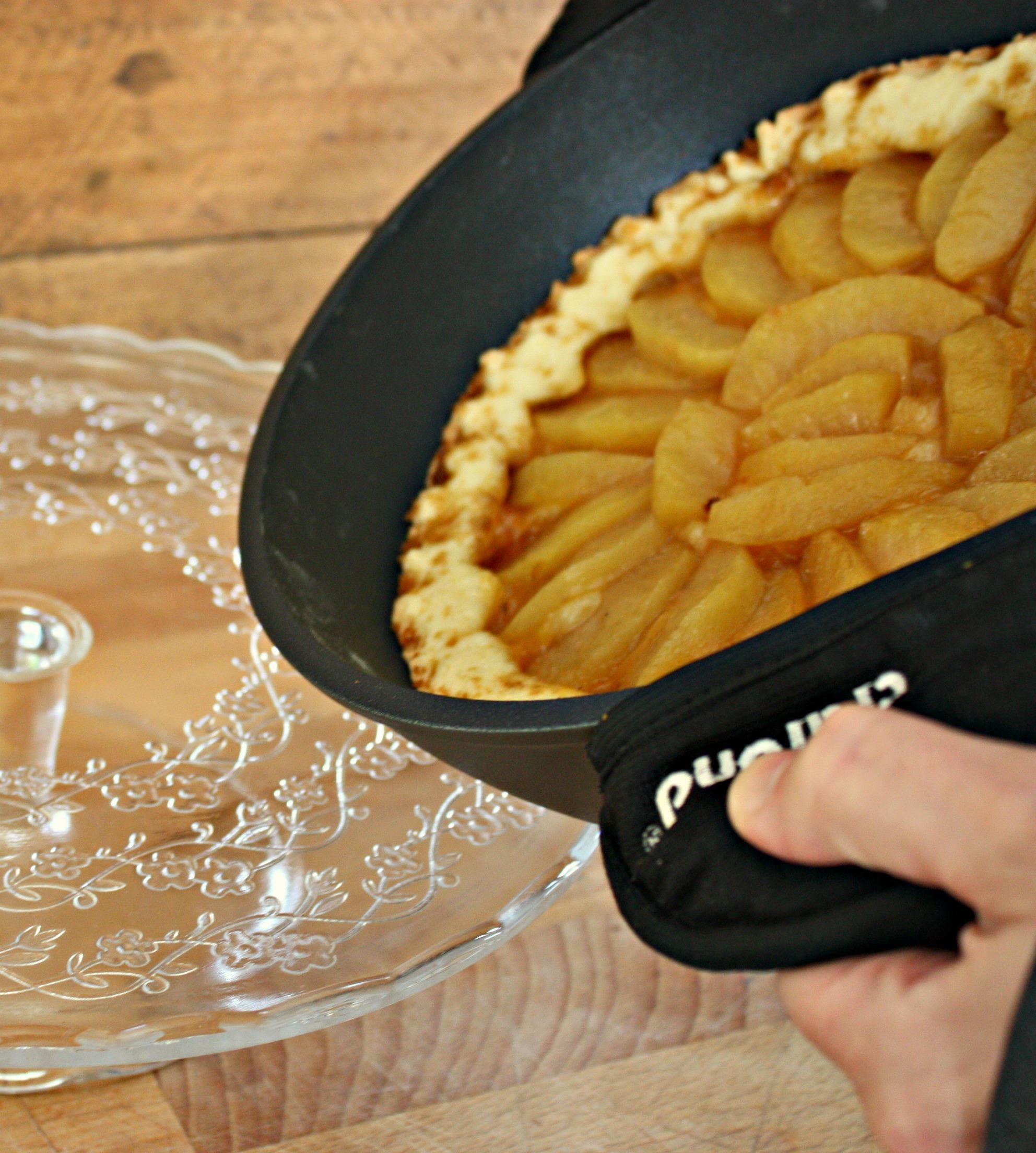 Crostata di mele cotta in padella for Crostata di mele