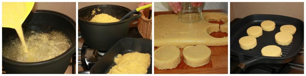 polenta preparazione