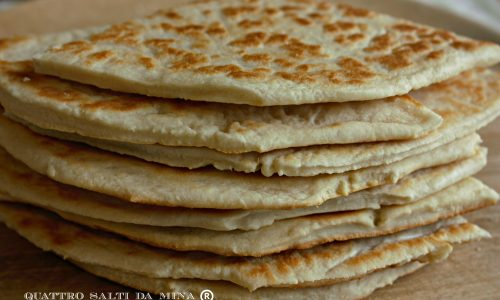 Piadina ricetta base