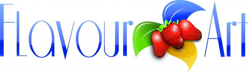 Logo Flavourart Azzurro
