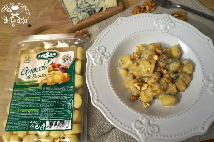 Gnocchi gorgonzola e noci 1