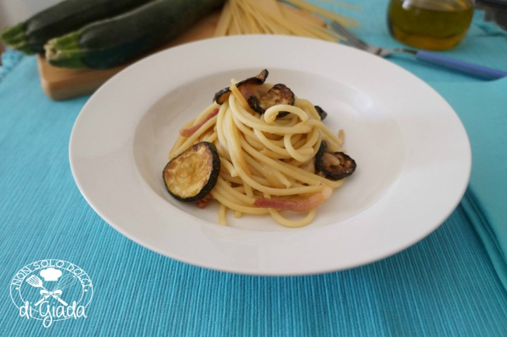 Spaghetti zucchine