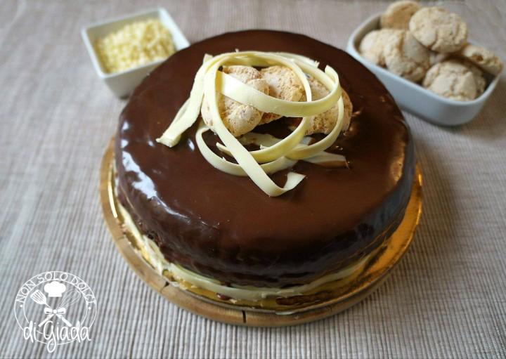 torta amaretto specchio
