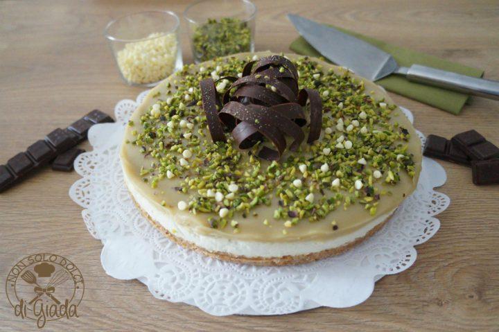 Cheesecake Al Pistacchio Non Solo Dolci Di Giada
