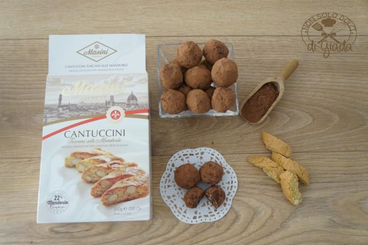 Tartufi di cioccolato con biscotti (4)