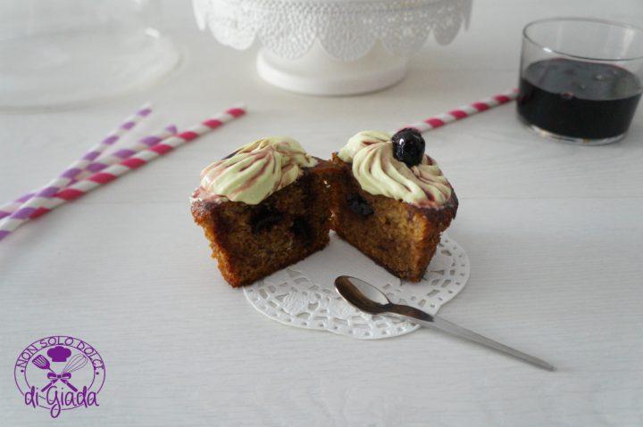 Cupcake amarena