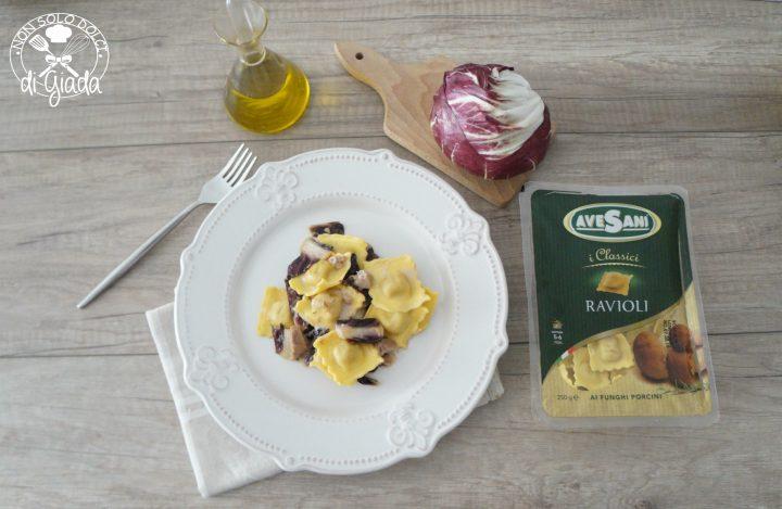 Ravioli radicchio e salsiccia1