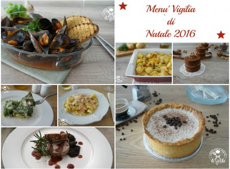 MENU' VIGILIA DI NATALE 2016