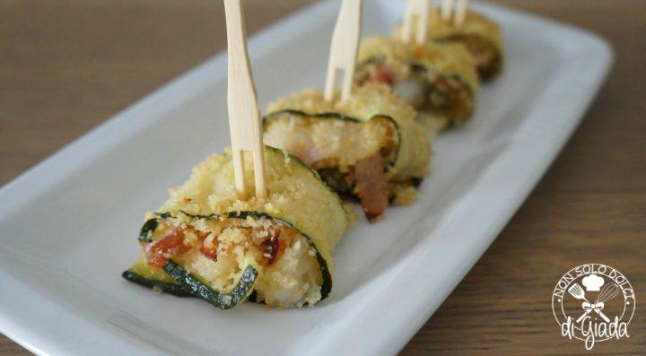Involtini di zucchine al forno