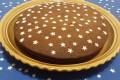 Torta al cioccolato e stelline