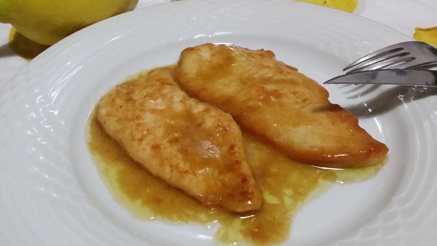 recipe: scaloppine di pollo al limone [24]