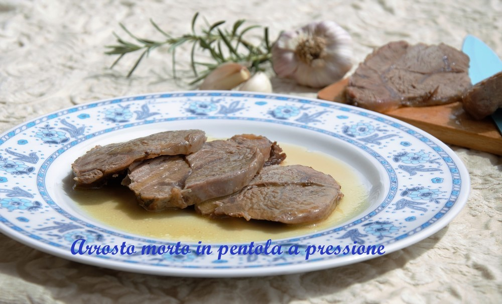 arrosto morto in pentola a pressione