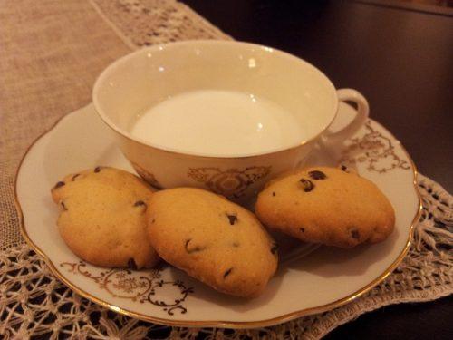 Biscotti con gocce di cioccolato (senza glutine)