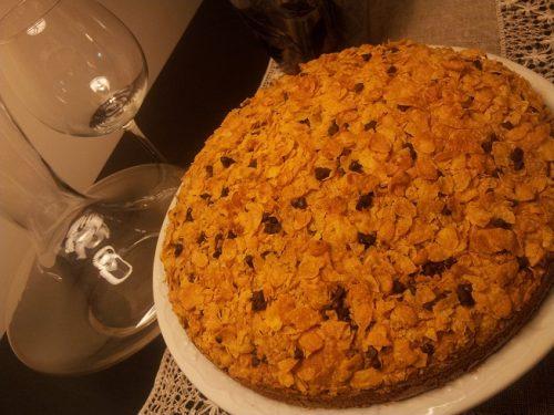 Torta Con Cornflakes (con e senza glutine)