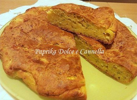 Torta Salata Zucchine e Formaggio (con e senza glutine)