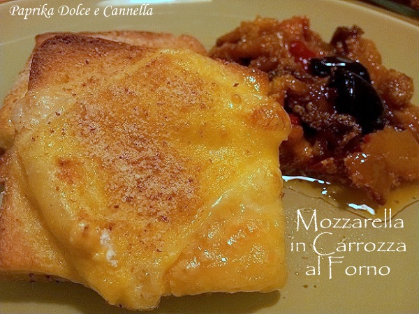 Mozzarella in carrozza al forno paprika dolce e cannella for Ricette mozzarella in carrozza al forno