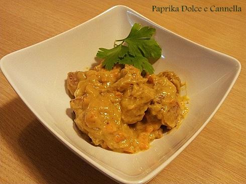 Spezzatino di Tacchino al Curry