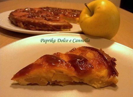 Clafoutis di Mele Caramellate (con e senza glutine)