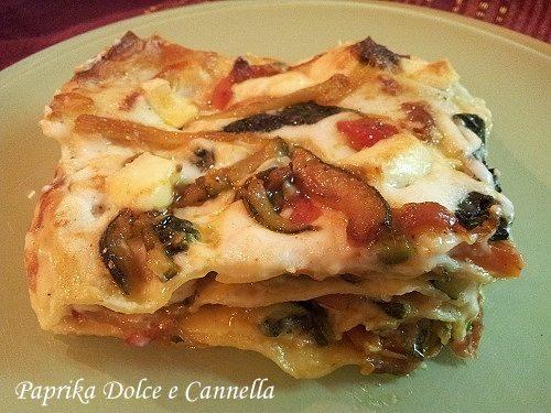 Lasagne di Verdure (ricetta vegetariana)