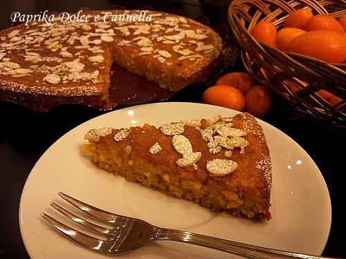 Torta con Mandarini Cinesi e Mandorle (gluten free)