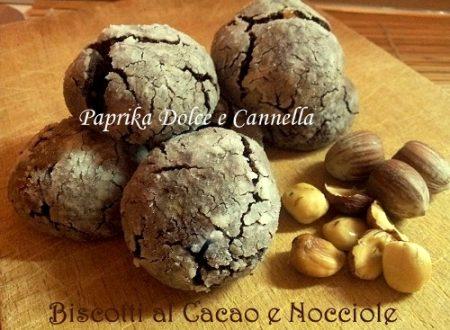 Biscotti al Cacao e Nocciole (senza burro)