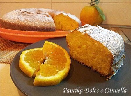 Torta all'Arancia (con e senza glutine)