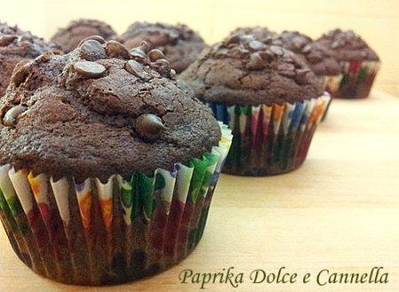 Muffin al Cioccolato Fondente (con e senza glutine)