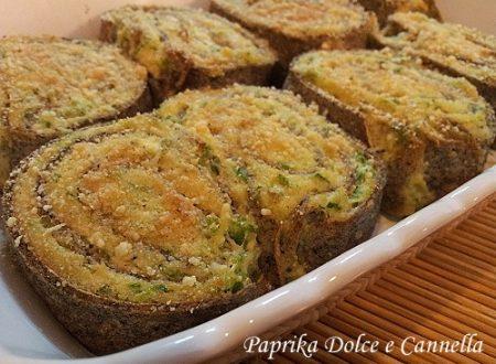 Girelle di Crespelle con Ricotta e Zucchine (con e senza glutine)