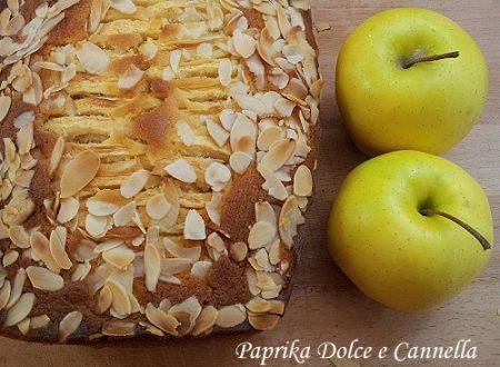 Plumcake alle Mele e Mandorle (con e senza glutine)