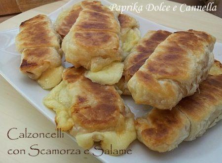 Calzoncelli con Scamorza e Salame