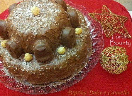 Torta Bounty con Cioccolato al Latte (anche senza glutine)