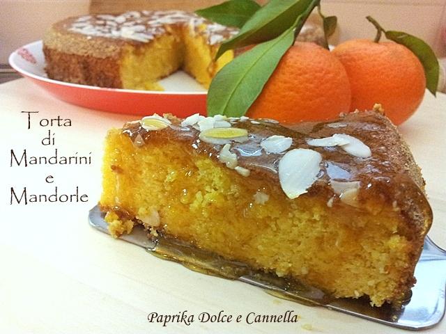 Torta di Mandarini e Mandorle (gluten free)  Paprika Dolce e Cannella