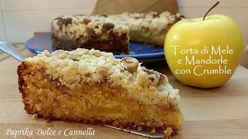 Ricetta di torta alle mele e mandorle