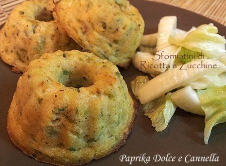 Sformatini di Ricotta e Zucchine