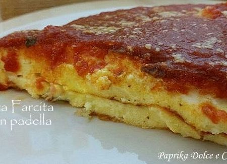 Tortino di Ricotta Farcita, Cotta in Padella (ricetta veloce!)