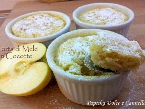 Torta di Mele in Cocotte (ricetta velocissima!!!)