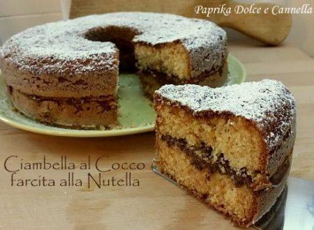 Ciambella Cocco e Nutella (ricetta velocissima!)