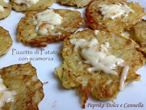 Pizzette di Patate con Scamorza (ricetta velocissima!)