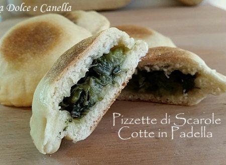 Pizzette di Scarole Cotte in Padella