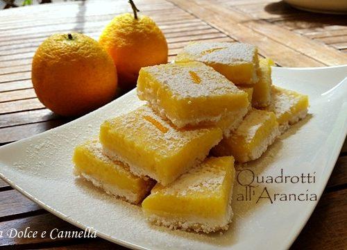 Quadrotti all'Arancia (Orange Bars)