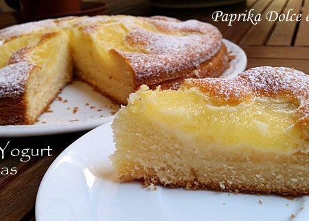 Torta Yogurt e Ananas (anche senza glutine)