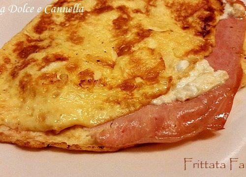 Frittata Farcita (prosciutto e scamorza)