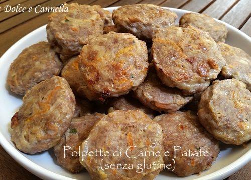 Polpette di Carne e Patate (senza glutine)