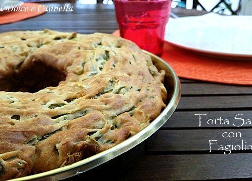 Torta Salata con Fagiolini (anche senza glutine)