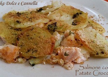 Salmone Fresco con Patate Croccanti